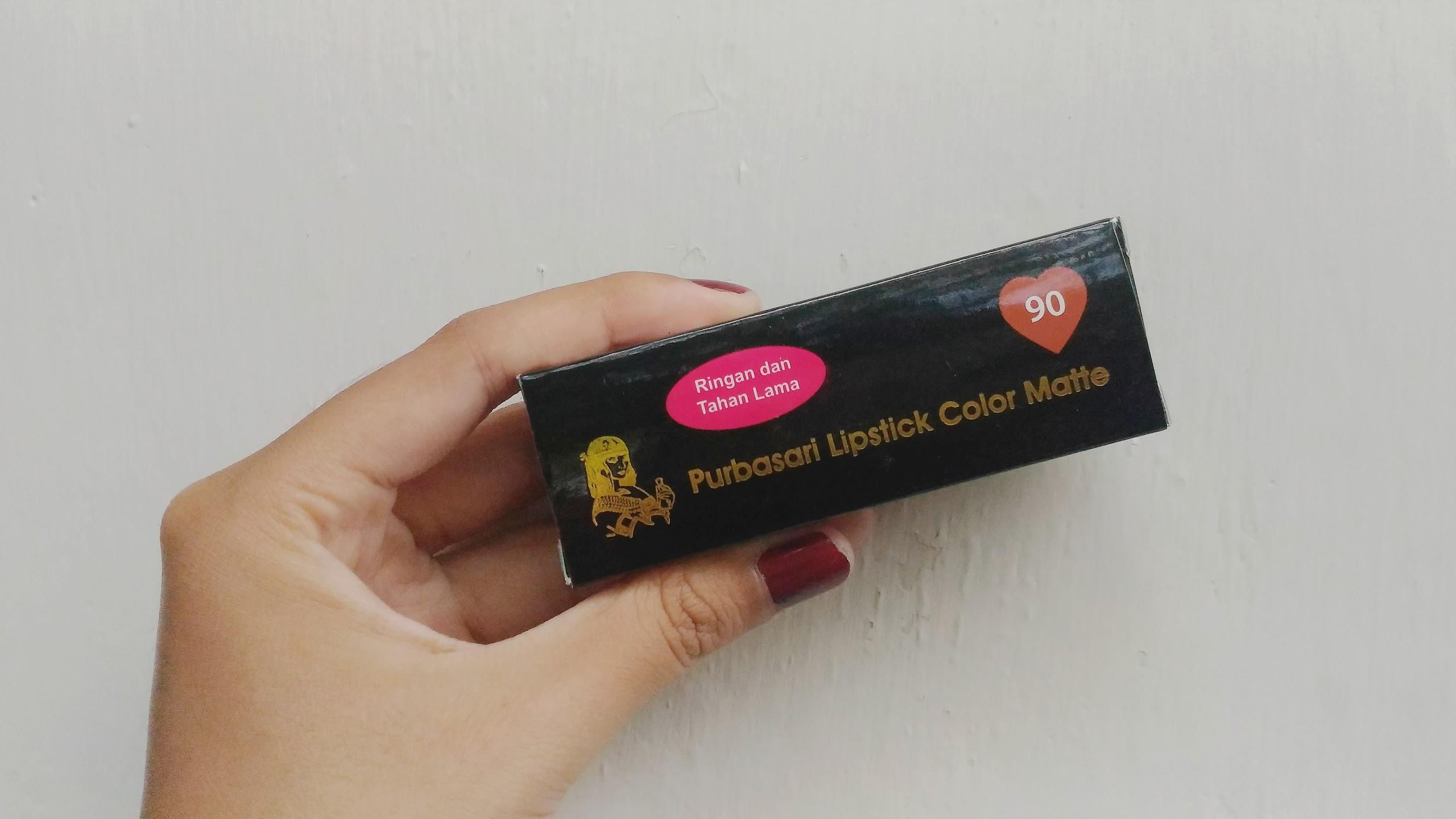 Annisa Maharani Review Purbasari Lipstick Color Matte 90 Crystal Lipstik Collor Hai Di Post Pertamaku Blogger Aku Mau My Fav Gincu Ever Yaitu Sejak Beberapa Bulan Lalu Lagi Ngincer Lipcream