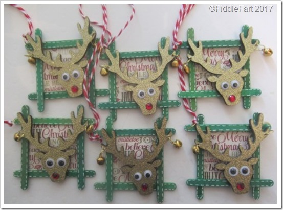 CRaft Stick Reindeer Tags