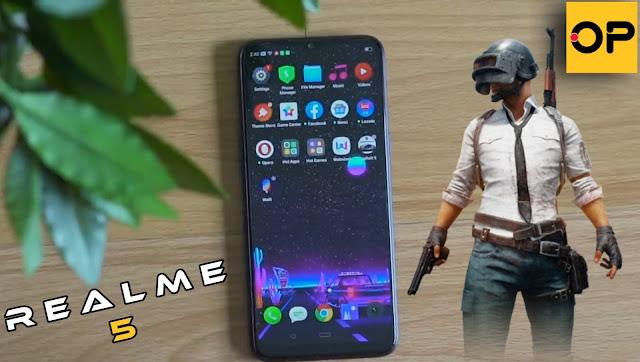 فيديو تجربة لعبة PUBG MOBILE على هاتف realme 5 | هاتف ببجى