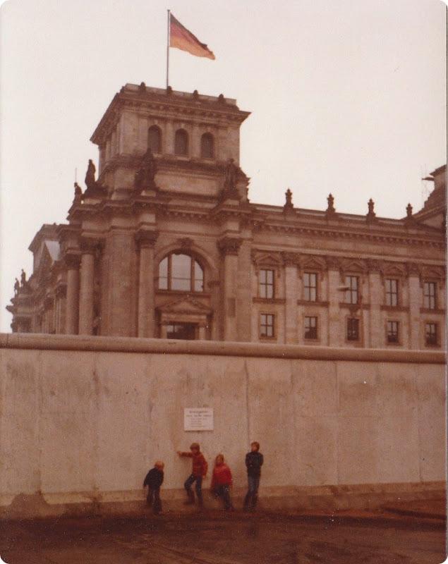 Muren, Rigsdagen, Berlin 1980