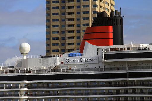 Cunard Lines - Queen Elizabeth