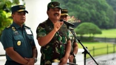 Sriwijaya Air Jatuh, Panglima TNI Kerahkan Pencarian Besar-besaran dari Udara dan Laut.