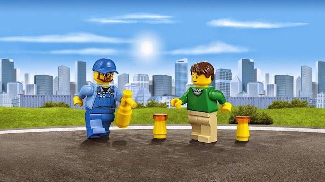 Đồ chơi Lego City 60081 Xe bán tải cứu hộ Pickup Tow Truck