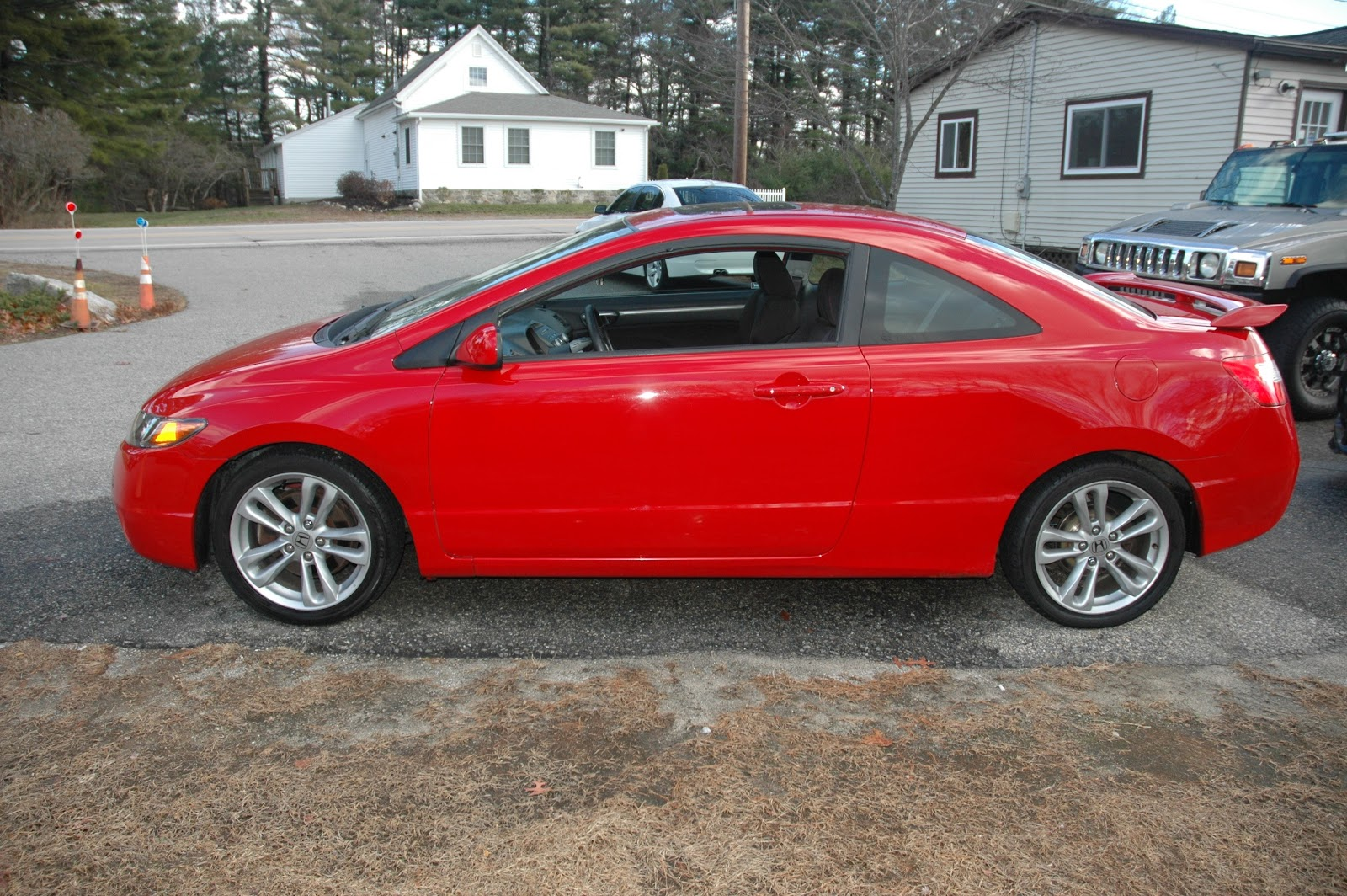 2006 honda civic si coupe red. Black Bedroom Furniture Sets. Home Design Ideas
