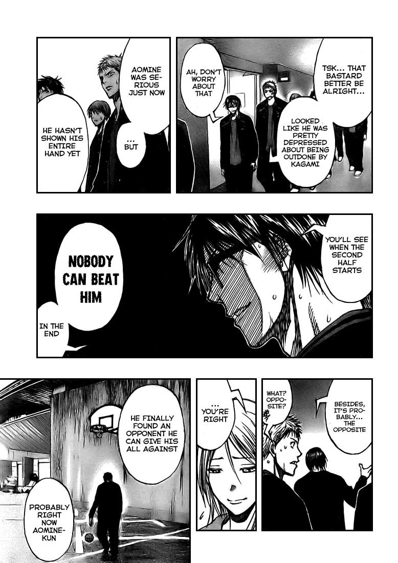 Kuroko no Basket Manga Chapter 123 - Image 17