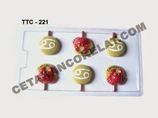Cetakan Coklat TTC221 Zodiac Cancer