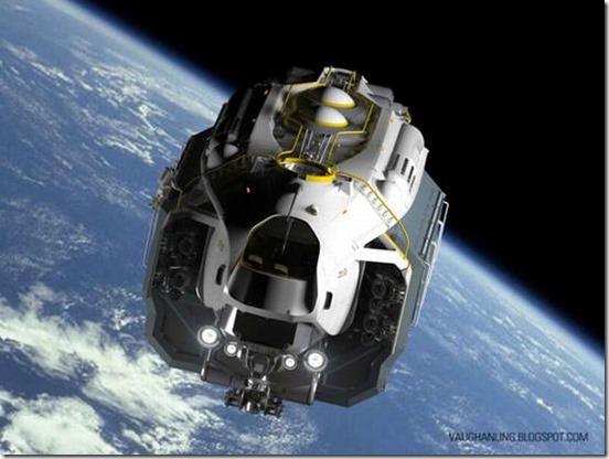 Space-Dump-Truck