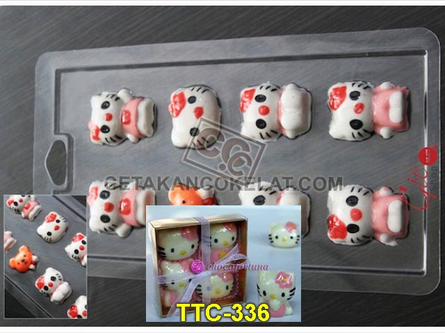 cetakan coklat cokelat TTC335 Hello Kitty Sanrio Binny