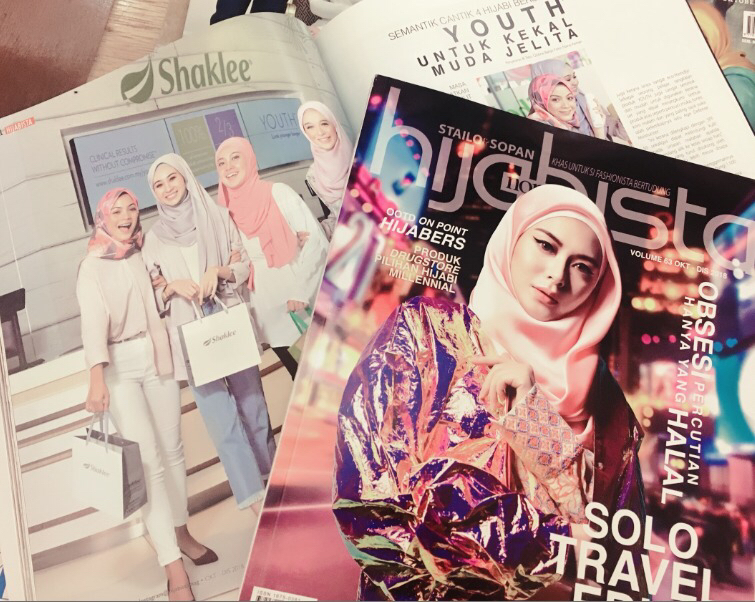 Youth Skincare Masuk Majalah Hijabista Edisi Oct-Nov 2018
