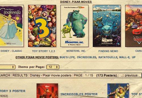 Pixar's Posters