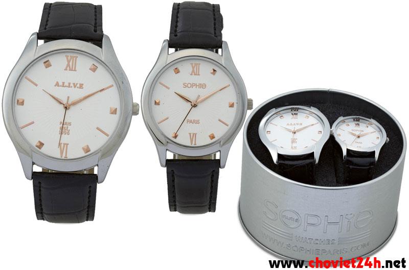 Bộ đồng hồ đôi Sophie Maldera - CPU11