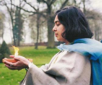 A Solitary Druid Ritual Image