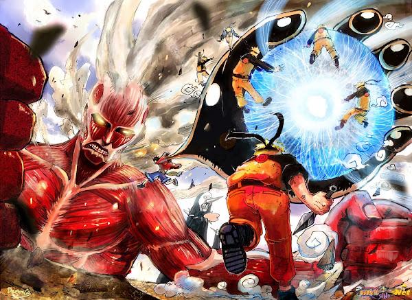 nrt Cross Over.full.1712275 Naruto and Luffy
