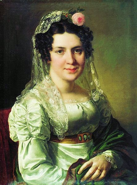 Vasily Tropinin - Yelena Shchepkina