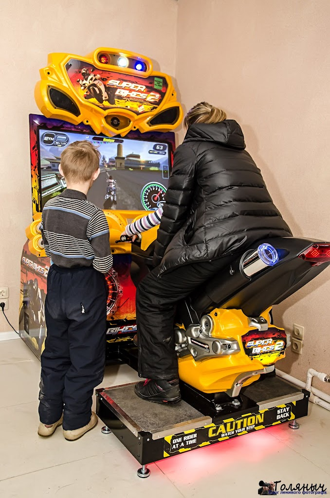 Автоматы пользовались популярность не только у детей, но и у родителей.
