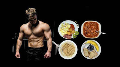 أفضل نظام غذائي للاعبي كمال الاجسام لحرق الدهون