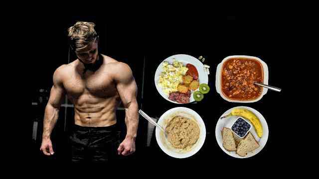 نظام غذائي للاعبي كمال الاجسام لحرق الدهون