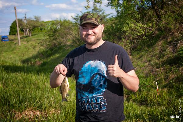 перша рибка Сашка