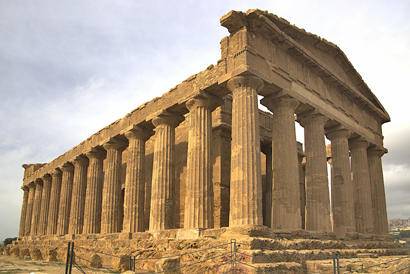 Der Concordiatempel in Agrigento gehört zu den am besten erhaltenen griechischen Tempeln der Welt