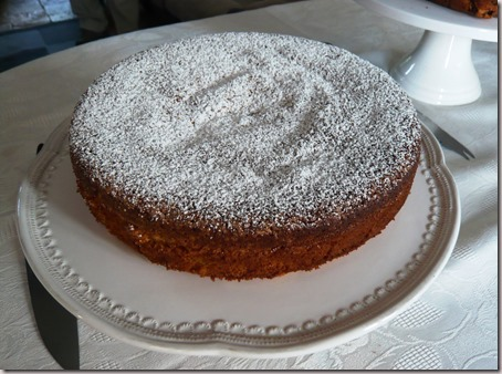 Spanish almond cake2