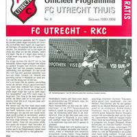FCU Programmaboekjes 1993-94