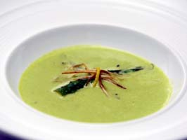 Weight Loss Recipes : Asparagus and Leek Soup