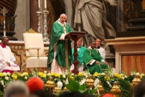 Using God As A Cover For Injustice Is No Trifle Matter Pope Says Cna