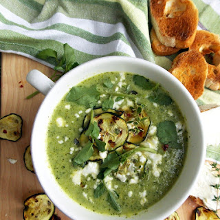 Zucchini Watercress Soup.
