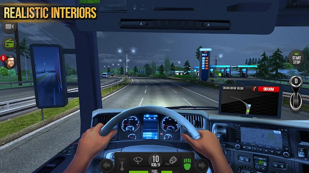 Truck Simulator 2018 : Europe APK screenshot thumbnail 18