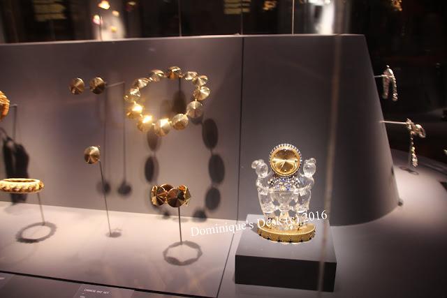 Golden jewelry