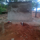A small storage tank to service the 4 families that live above the large storage tank