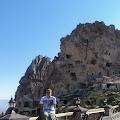 Kapadocija (turski Kapadokya) poznata po nastambama u kamenu