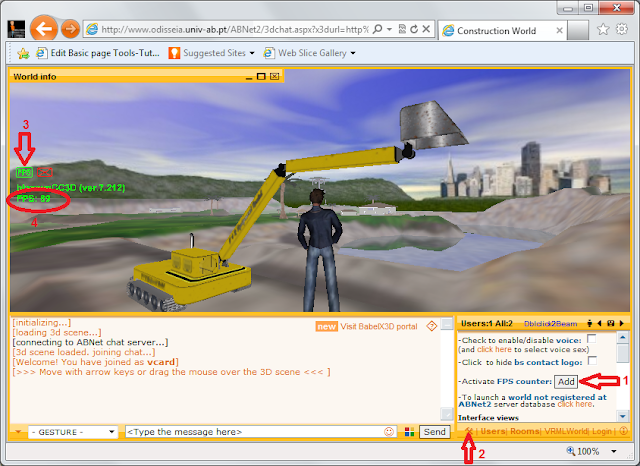 Babelx3d site - Suporting VRML/x3D and newer 3D standards Babelx3dFramerateView