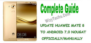 How to Update or Install Huawei Mate 8 Nougat Firmware (B573 NXT-DL00 Dual)