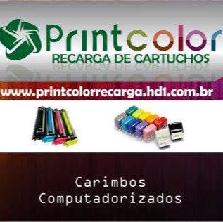 PRINTCOLOR RECARGA DE CARTUCHOS TONERS GRAFICA RAPIDA E CARIMBOS