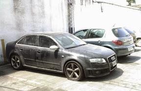 Abandoned Audi RS4