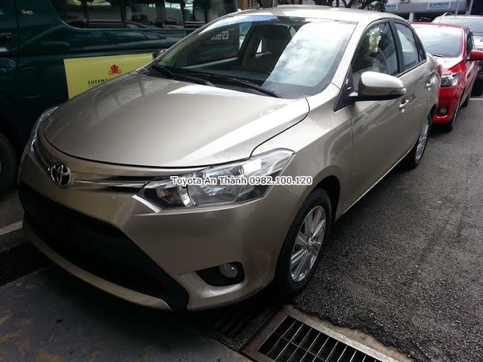 Giá Xe Toyota Vios 2015 Màu Nâu Vàng Số Tự Động
