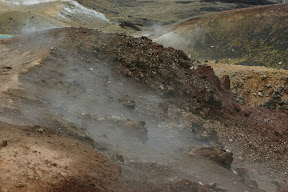Steam at Red Crater 1