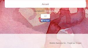 Le bouton de partage de Facebook, à proximité des liens de flux.
