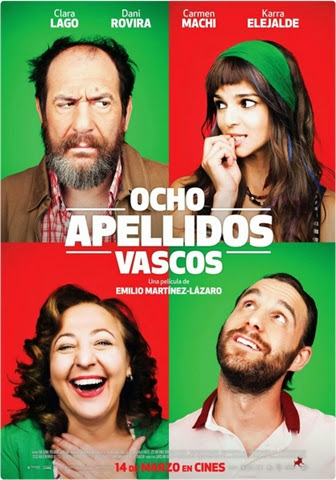 Ocho Apellidos Vascos [DVDRip] [Audio Castellano] [2014] [MULTI]