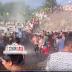 [VÍDEO] Veja o momento onde pessoas saquearam o caminhão de cimento no grave acidente na BR-222