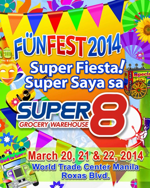 Super 8 Grocery Warehouse Funfest 2014