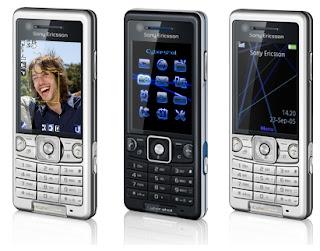 Sony Ericsson C510 3G phone