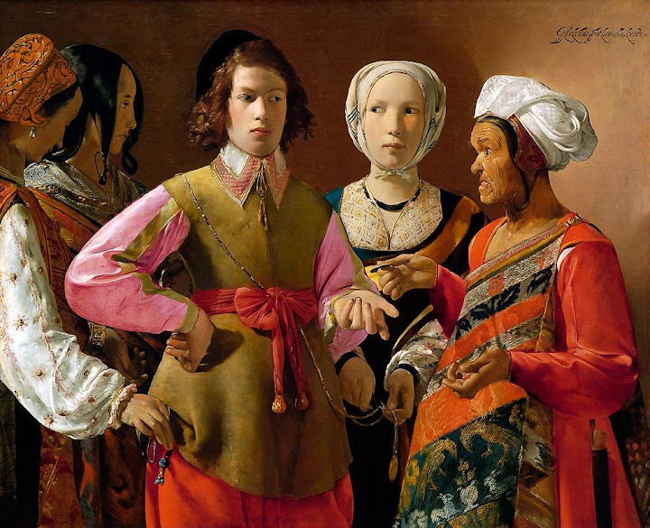 Georges de La Tour - The Fortune-Teller.