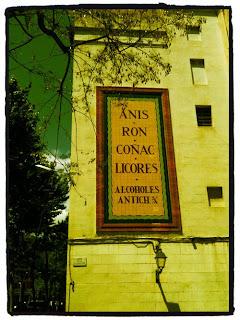cartel antiguo barcelona