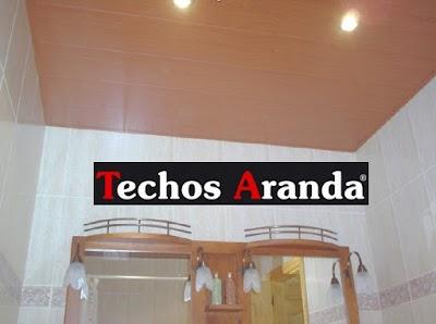 Oferta techos de aluminio para baños Madrid