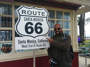 Me at Route 66, Santa Monica