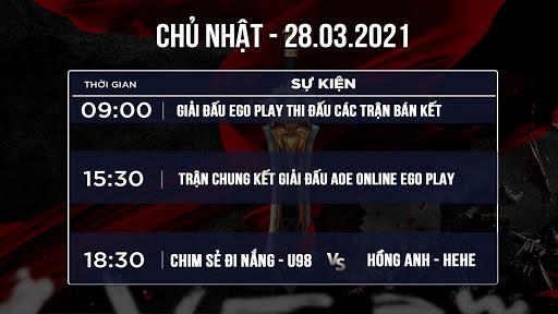 Bản tin AoE Chủ Nhật ngày 28/3: Hướng về trận đấu Super Sunday