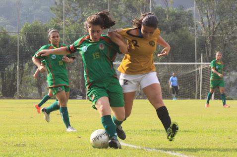 Meninas do futebol são campeãs dos Jogos da Juventude