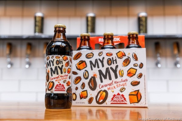 Redhook Introduces My Oh My Caramel Macchiato Milk Stout